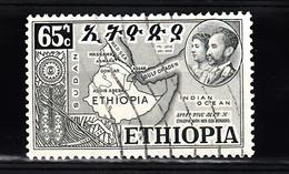 Ethiopie 1952 Mi Nr 3222 Landkaart - Ethiopië
