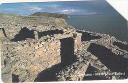 BOLIVIA(Urmet) - Chinkana/Isla Del Sol, Exp.date 31/12/99, Used - Bolivia