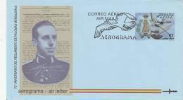España Aerograma Nº 223 USADO - Enteros Postales