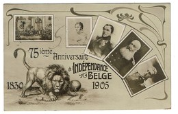 1830 - 1905 - 75ème Anniversaire De L'Indépendance Belge - 2 Scans - Other