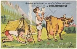 Chamrousse (38) - ''Quelles Heureuses Et Confortables Vacances'' (JeanBrian) - Other Illustrators