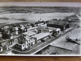 Photographie LAPIE Grand Format  27 X 45 Année 1958 Aérodrome De LLABANERE Près PERPIGNAN - Aviación