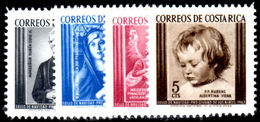 Costa Rica 1963 Christmas Unmounted Mint. - Costa Rica