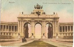 Belgium & Ciculated, Bruxelles L'Arcade Monumentale, Palais Du Cinquantenaire,  Sintra Portugal 1921 (99) - Monuments