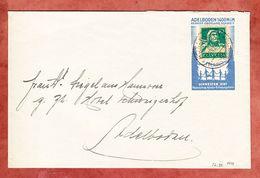 Brief, EF Tell Auf Vignette Adelboden Kinder-Erholungsheim, 1929 (54041) - Covers & Documents