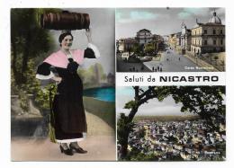 SALUTI DA NICASTRO - VIAGGIATA FG - Catanzaro