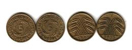 Allemagne   5  Reichspfennig 1935 E + F - 5 Reichspfennig