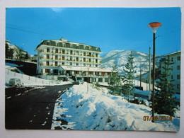 CP Italie  SAMPEYRE  ( Valle Varaita )  - Hôtel Restaurante MONTE NEBIN Avec La Neige - Voiture - Italia