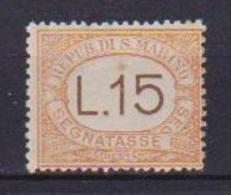 SAN MARINO 1927-28 SEGNATASSE  VALORI COMPLEMENTARI SASS. 28 MNH  XF - Segnatasse
