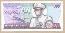 CONGO / Zaire 500 Zaire 1984 P30a AUNC+ - Zaïre