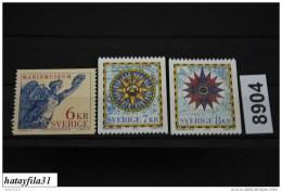 Schweden   1997  Mi. 2006 - 2008 **  Postfrisch  /   Int. Konferenz über Der Katographie - Unused Stamps