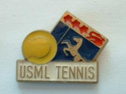 PIN'S USML TENNIS   - SIGNE MARTINEAU - Tennis
