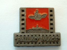 "PIN'S ""BALLAD'IMAGE""  - SIGNE MARTINEAU - Films"