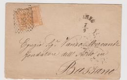 SCHIO-BASSANO, Numerale A Punti 2654 - Storia Postale
