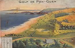 CPA GOLF De PEN-GUEN St Briac - Saint-Briac