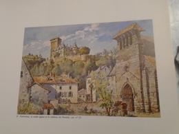 RENE VALETTE  UN ILLUSTRATEUR DU CANTAL   MUSEE AURILLAC 23 JUIN - 31 AOUT 1984 - Auvergne