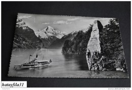 Flüelen   /   Gelaufen  1955      ( P - 92 ) - UR Uri