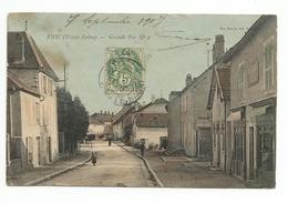 CPA - RIOZ - Grande-Rue (N° 2) - Frankreich