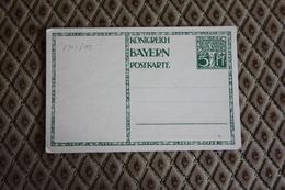 ( 505 )  Ganzsache P 91 I / 01 * -  Siehe Beschreibung - Bavière
