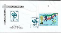 2006 Ian  Mi: 3026 FDC FIFA . Fußball-Weltmeisterschaft, Deutschland - Iran