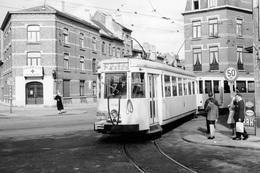 Bruxelles. Scheut. SNCV Brabant. Cliché Jacques Bazin. 05-10-1958 - Trains
