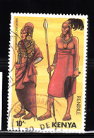 Kenia 1984 Mi Nr 312 Klederdracht - Kenia (1963-...)
