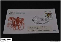 Belgien    1982   FDC  Mi. 2104  Tag Der Briefmarke  - Gelaufen   (  T - 85 ) - FDC