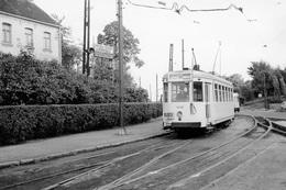 Dilbeek. SNCV Brabant. Cliché Jacques Bazin. 05-10-1958 - Trains