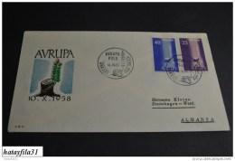 Türkei    Europa - CEPT   1958   Mi.  1610 - 1611      ( 103 ) - Europa-CEPT