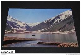Lake Saiful Mulook , Kaghan ( Pakistan )   / Gelaufen      ( 91) - Pakistan