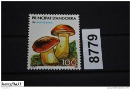 Andorra ( Spanisch ) 1987 - Mi. 197 ** Postfrisch / Pilze - Unused Stamps