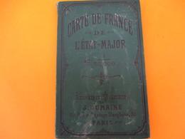 Carte Entoilée/Librairie Militaire Dumaine/Paris/Dépot De La Guerre Et Des Fortifications/ROUEN /N°31/Fin 19éme   PGC185 - Cartes Routières
