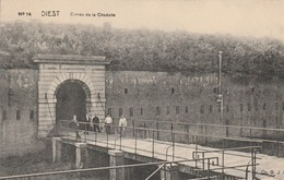 Diest ,Entrée De La Citadelle , N° 14 ,( Caserne ,militaire ,) - Diest