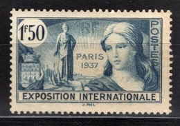 FRANCE 1936 / 1937 - Y.T. N° 336  - NEUF** - Unused Stamps