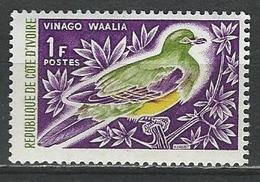 Ivory Coast. Scott # 231 MNH. Pigeon 1965 - Ivory Coast (1960-...)