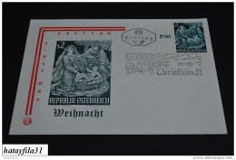 Österreich  1963    Ersttags Brief    Mi. 1143  /   Weihnachten        (T - 97 ) - FDC