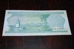 1975 Türkei 10 Lira  / 6. Emisyon 2. Tertip Serie : G / UNC - Turkey
