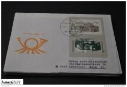 DDR  1985  Gelaufene FDC   Block 80       / Wiedereröffnung Der Semperoper     ( T - 95 ) - FDC: Enveloppes