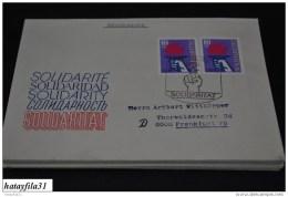 DDR  1977  Gelaufener FDC  Mi. 2263   /   Int. Solidarität ( T - 84 ) - FDC: Enveloppes