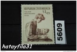 Österreich  1955   Mi. 1023   ** Postfrisch  /  Tag Der Briefmarke - 1945-60 Ungebraucht