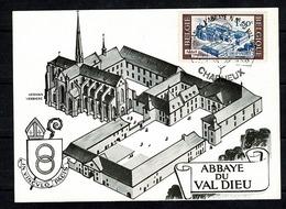 Belg 1966 - 1386 Abbaye Du Val Dieu - Entiers Postaux
