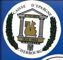 A.C. CAISSE D'EPARGNE CHERBOURG - Autocollants
