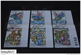 Vatikan  1988  Mi. 957 - 962   Gestempelt  /  Weihnachten - Used Stamps