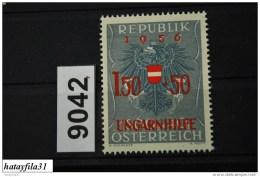 Österreich   1956    Mi . 1030  ** Postfrisch /   Ungarische Flüchtlinge - 1945-60 Ungebraucht