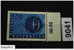 Österreich   1956    Mi . 1026  ** Postfrisch /   Weltkraftkonferenz , Wien - 1945-60 Ungebraucht
