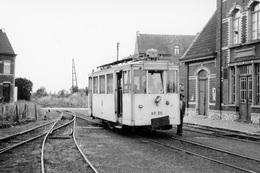 Sart-Risbart. SNCV Brabant. Cliché Jacques Bazin. 11-07-1957 - Trains