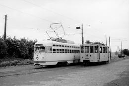Mellet. SNCV Groupe De Louvain. Cliché Jacques Bazin. 01-06-1953 - Trains