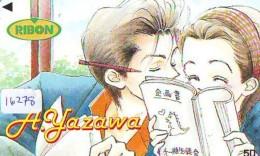 Télécarte Japon  110-011 - MANGA * RIBON YAZAWA  (16.278)  ANIME Japan Phonecard - Kino