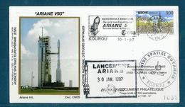 ESPACE - ARIANE Vol Du 1997/01 V93 - CNES - 4 Documents - Europa