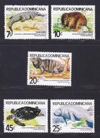 DOMINICAINE N°  859, AERIENS N°  360 à 363 ** MNH Neufs Sans Charnière, TB (D7427) Faune Nationale, Animaux, Tortues - Dominicaine (République)